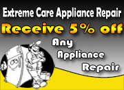 5% Off Any Appliance Repair